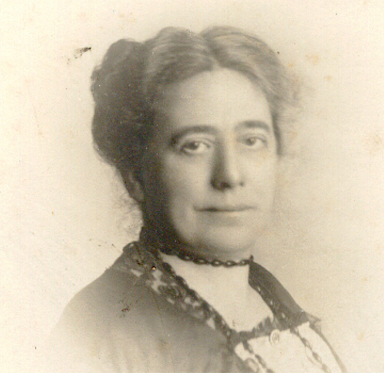 Photograph of Mabel Barltrop, Founder of the Panacea Society. Taken after she formally became known as Octavia, the Divine Daughter of God