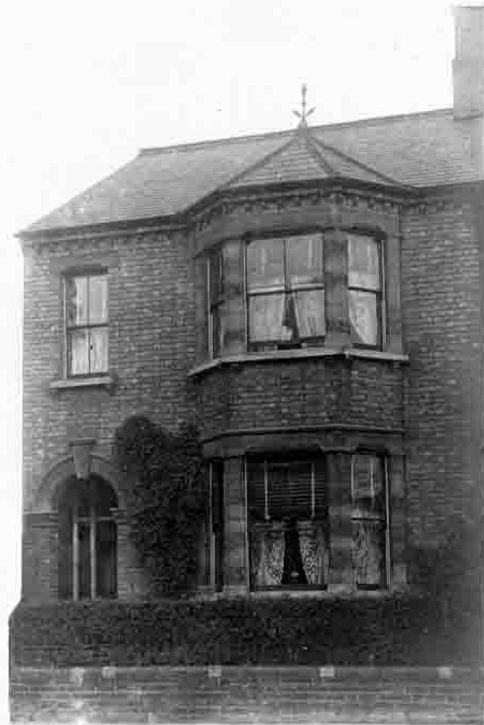 12 Albany Road in the 1920s, where the Panacea Society first formed, and where Octavia lived throughout her lifetime in Bedford.  The house is now owned by the Panacea Charitable Trust.